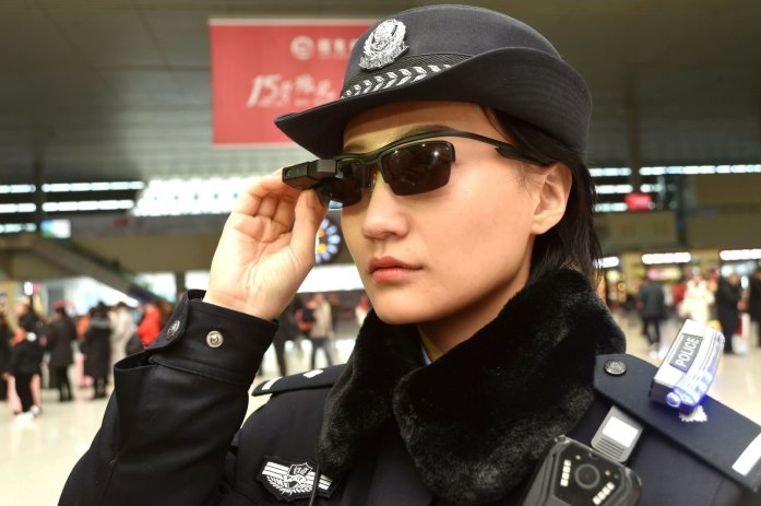 CHINA-POLICE-TECHNOLOGY